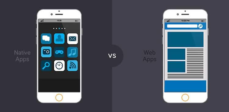 وب اپلیکیشن (web app) و اپلیکیشن موبایل چه تفاوتی بایکدیگر دارند؟
