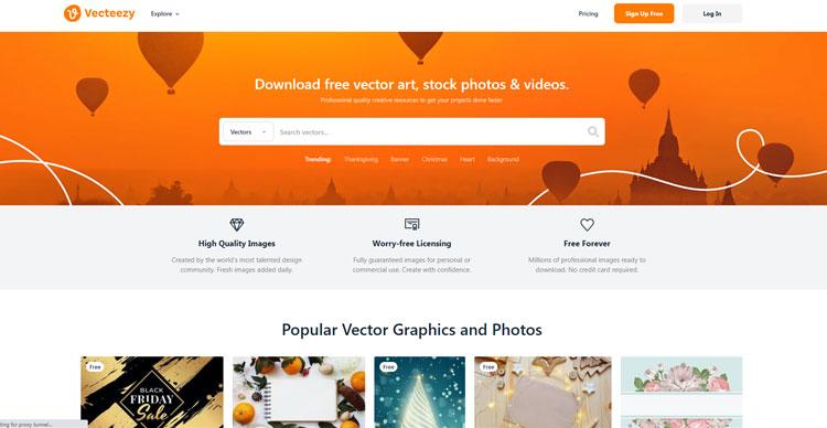 10 وبسایت کاربردی برای گرافیست The Best Websites For Graphic Designers https://www.vecteezy.com/