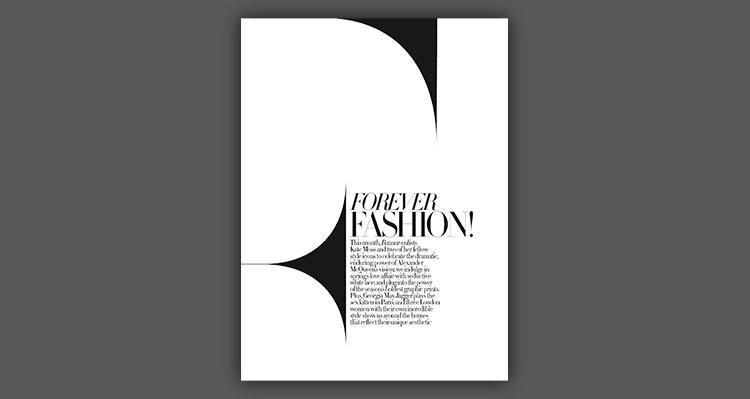 اصول خلاقیت در صفحه آرایی مُد (فشن) Creative layout fashion design