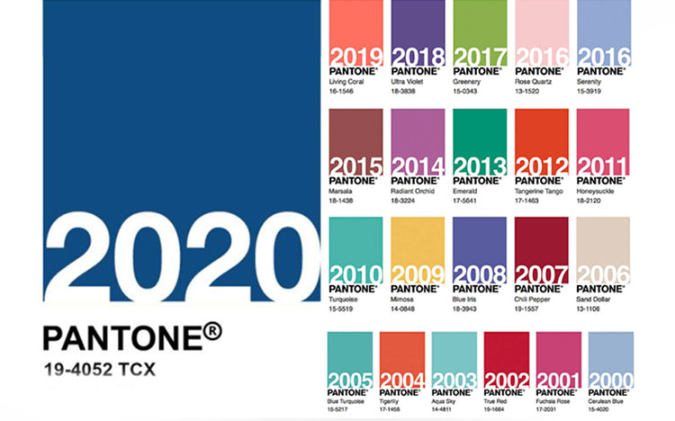 رنگ پنتون سال 2020 میلادی چیست؟ ANNOUNCING THE PANTONE COLOR OF THE YEAR 2020