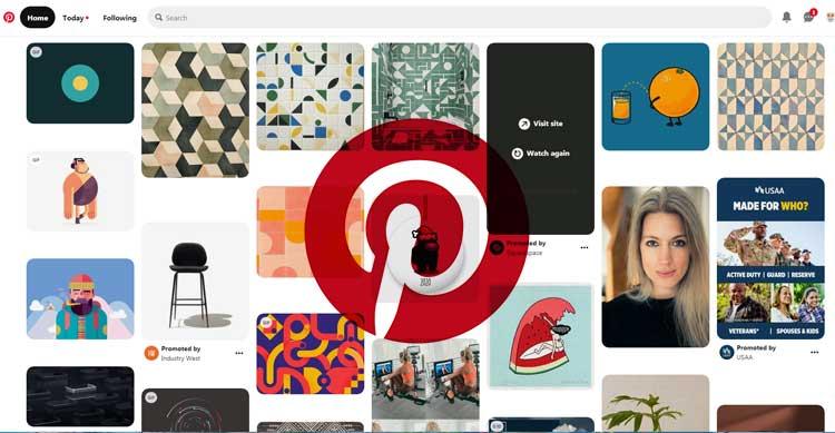 5 وب سایت برتر برای ایده و خلاقیت The best websites for ideas and creativity وبسایت https://www.pinterest.com/