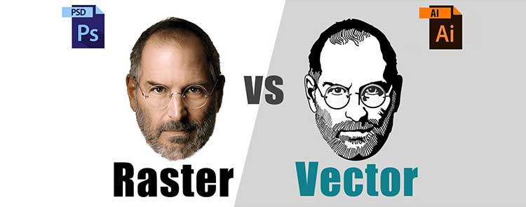 تفاوت رستر (Raster) و وکتور (Vector) چیست؟ What is the difference between Raster and Vector?